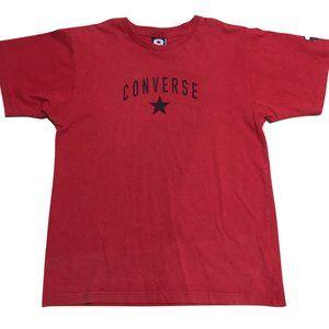 Vintage Red Converse Tee